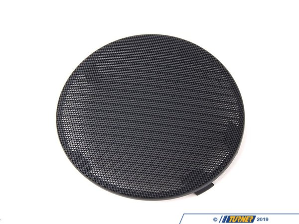 T#98329 - 51418213911 - Genuine BMW Cover Loudspeaker Left Schwarz - 51418213911 - E46 - Genuine BMW -