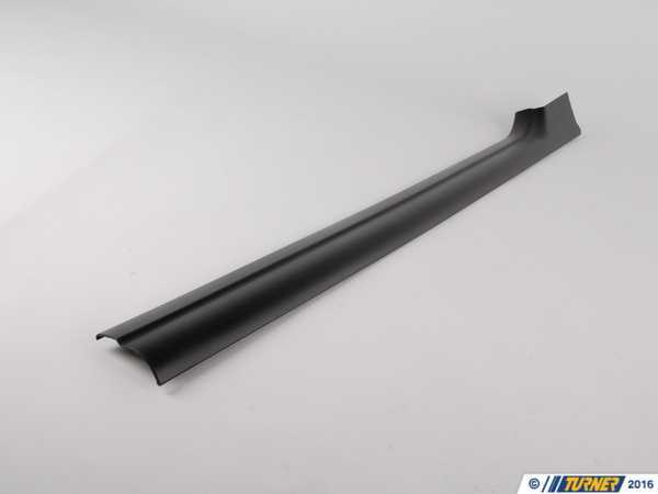 T#113223 - 51478239960 - Genuine BMW Cover Strip, Entrance, Inter - 51478239960 - Schwarz - Genuine BMW -