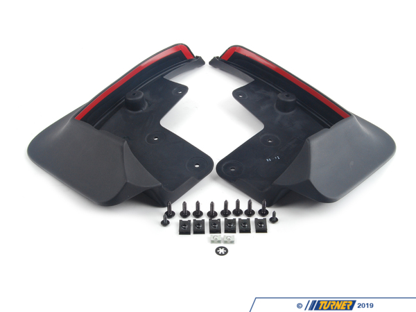 T#24933 - 82162147261 - Genuine BMW Set Mud Flaps, Rear E89 - 82162147261 - E89 - Genuine BMW -