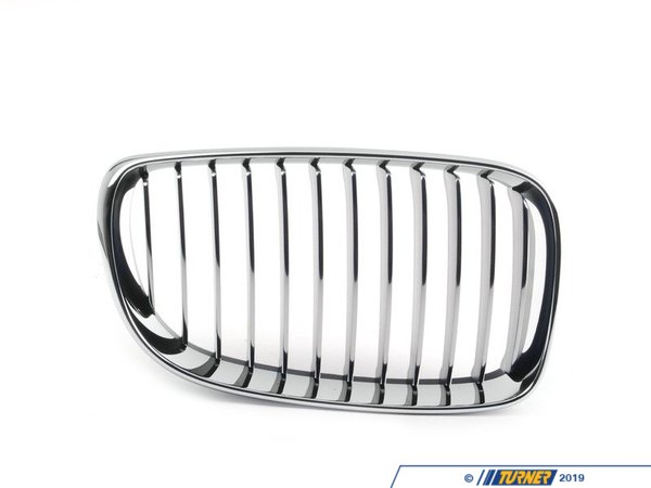 T#80048 - 51137179656 - Genuine BMW Grille, Chrome, Right - 51137179656 - E82,E82 1M Coupe - Genuine BMW -