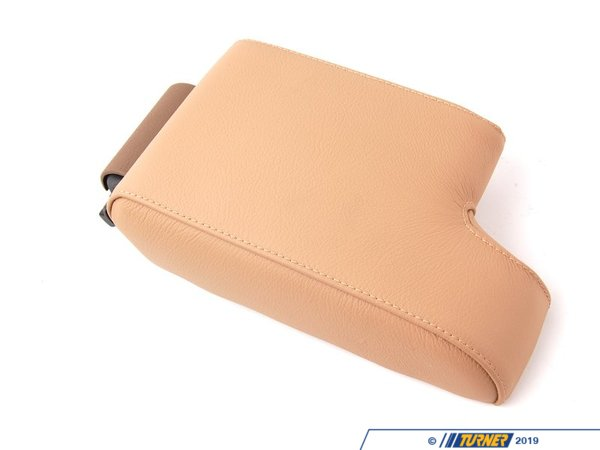 Genuine BMW Genuine BMW Center Console Leather Armrest - Montana Beige - E36 51168173256