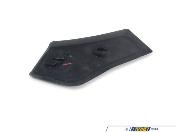T#115722 - 51498401011 - Genuine BMW Left Water Channel Cover Schwarz - 51498401011 - Genuine BMW -