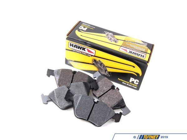 T#300556 - hb534z.750 - Front Ceramic Compound Performance Brake Pad Set - Hawk -