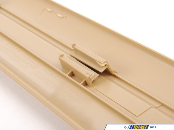 T#111812 - 51477146332 - Genuine BMW Entrance Strip, Front Beige - 51477146332 - E90 - Genuine BMW -