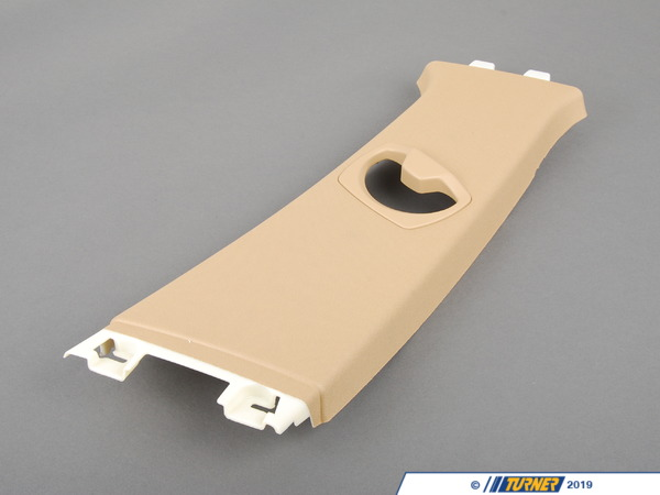 T#103588 - 51437141070 - Genuine BMW Cover, B-Column Upper Right Beige - 51437141070 - E90 - Genuine BMW -