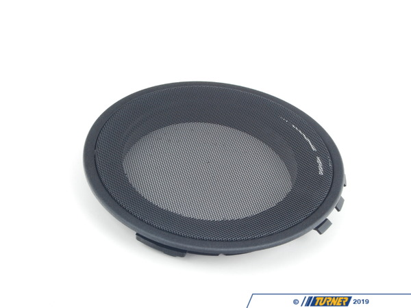 T#105753 - 51442253012 - Genuine BMW Cover Loudspeaker Schwarz - 51442253012 - E34,E39 - Genuine BMW -