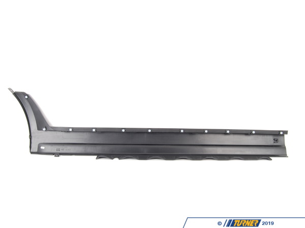 T#116907 - 51713330865 - Genuine BMW Left Door Sill Cover - 51713330865 - E83 - Genuine BMW -