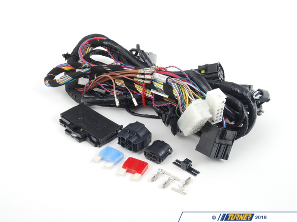 T#137040 - 61119133642 - Genuine BMW Rep. Wiring Harness, Front S - 61119133642 - Genuine BMW -
