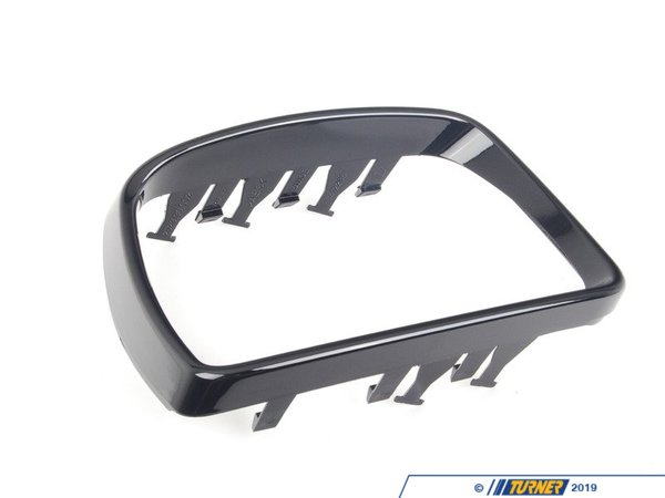 T#82522 - 51163417704 - Genuine BMW Mirror Frame Right Glanzschwarz - 51163417704 - E83 - Genuine BMW -