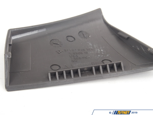 T#103231 - 51437055418 - Genuine BMW Cover, Belt Outlet, Right Grau - 51437055418 - E85 - Genuine BMW -