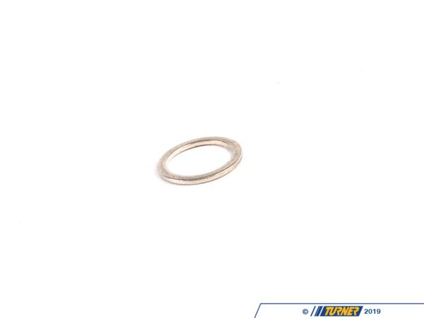 T#57701 - 32411093595 - Genuine BMW Gasket Ring A10X13,5-Cusn - 32411093595 - E34,E38 - Genuine BMW -