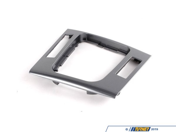 T#86133 - 51168234724 - Genuine BMW Depositing Box Bottom Panel - 51168234724 - Grau Hochglanz - Genuine BMW -