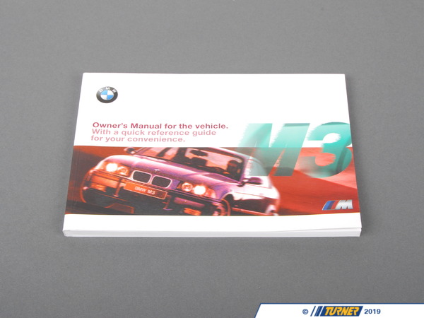T#6356 - 01419790397 - Genuine BMW Owner's Handbook M3 E36/4/2/C - 01419790397 - E36 - Genuine BMW -