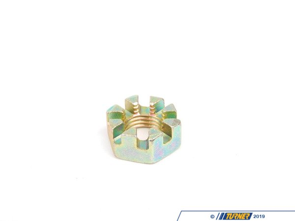 T#7817 - 32211117034 - Genuine BMW Crown Nut M14 - 32211117034 - E30 - Genuine BMW -