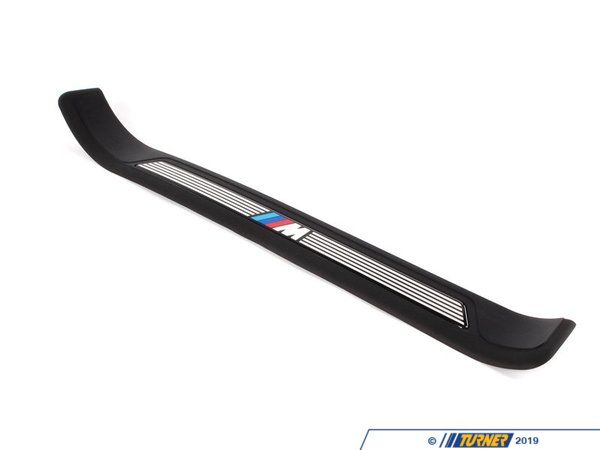 T#110553 - 51472695662 - Genuine BMW M Trim Piece, Front Right En - 51472695662 - Schwarz - Genuine BMW -