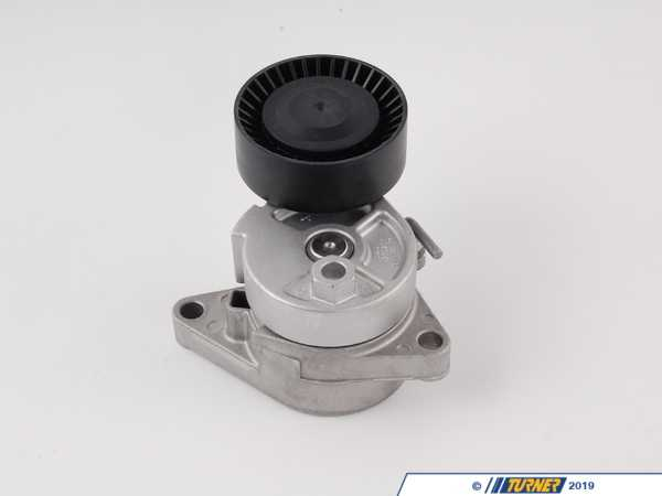 T#2479 - 11281433571 - OEM INA AC Belt Tensioner with Pulley for E46 M3 & 1999-2002 non-M E46 323/328/325/330 - Ina - BMW