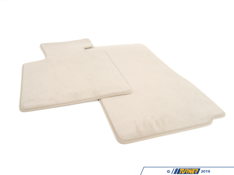 51477056295 Genuine Bmw Set Of Floor Mats Velours Beige