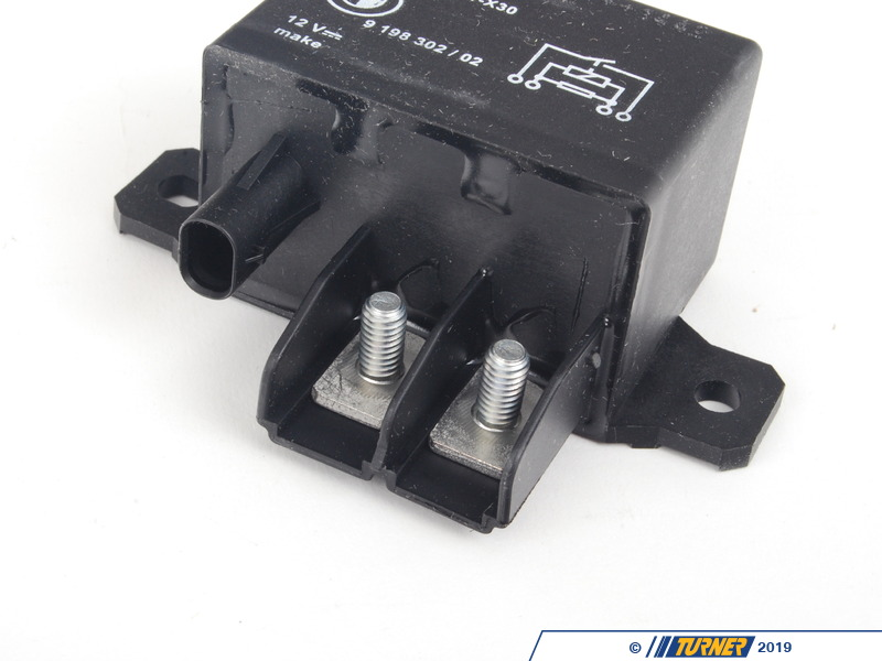 61369198302 Genuine Bmw Fan Relay Turner Motorsport