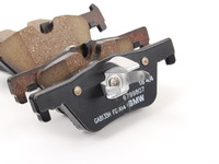 Genuine BMW Repair Kit, Brake Pads Asbes - 34206873094