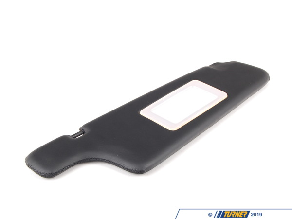 T#85184 - 51168106722 - Genuine BMW Right Illuminated Sun Visor Schwarz - 51168106722 - Genuine BMW -