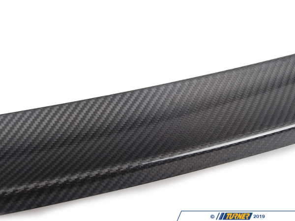 T#3766 - 51710411575 - E90 Genuine BMW Carbon Fiber Rear Deck Spoiler - Genuine BMW -