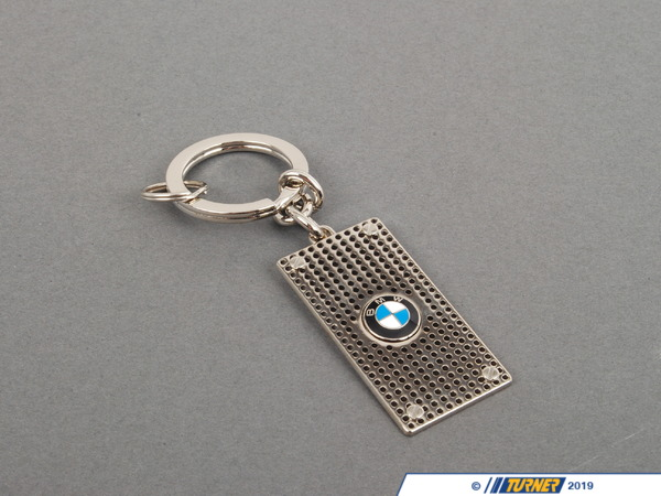 T#163807 - 80232149937 - Genuine BMW Perforated Key Ring - 80232149937 - Genuine BMW -