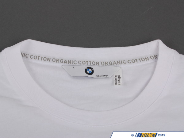T#162696 - 80142166734 - Genuine BMW Man's T-Shirt White, L - 80142166734 - Genuine BMW -