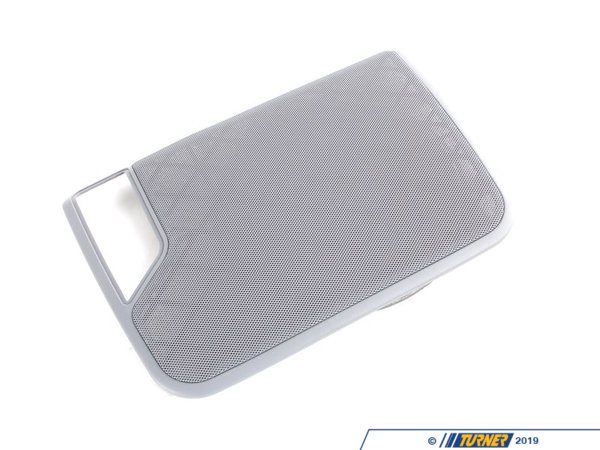 T#109734 - 51468243681 - Genuine BMW Cover, Loudspeaker Left Grau - 51468243681 - E46,E46 M3 - Genuine BMW -