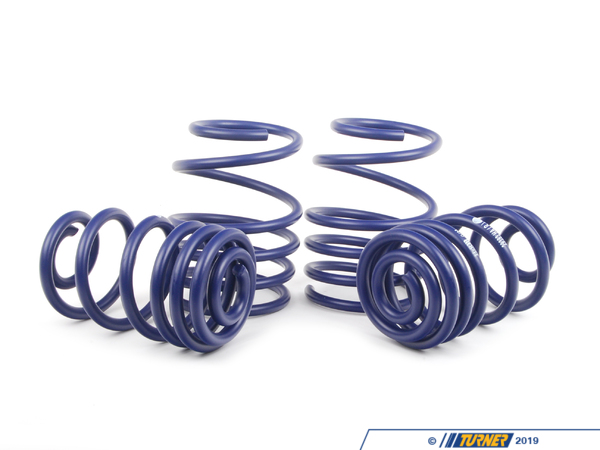 "T#316 - 50419 - H&R Sport Spring Set - E46 325Xi Touring - Front Lowering -1.2""Rear Lowering -1.0"" Enhance the look of your BMW E46 325xi Wagon with a reduced fender well gap. H&R Sport Springs lower the vehicle center of gravity and reduce body roll for better handling. The progressive spring rate design provides superb ride quality and comfort. A lower wind resistance signature will make the vehicle more streamlined and improve gas mileage. If you are only looking to improve one part of your vehicles suspension, you cannot go wrong with installing Sport Springs. Fun to drive, H&R Sport Springs are the number one upgrade for your vehicle. We recommend installing Bilstein Sport shocks with these lowering springs.This item fits the following BMWs:2001-2005  E46 BMW 325xi Wagoni - H&R - BMW"