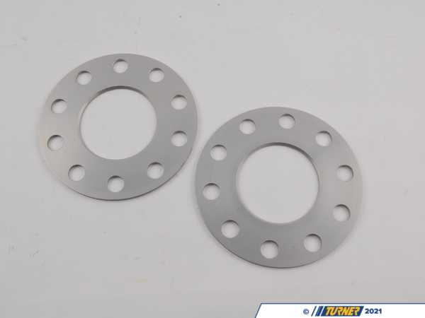 T#1590 - 0675725 - H&R 3mm Wheel Spacers for most BMW 5-Lug (Pair) - H&R - BMW