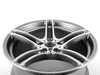 T#66790 - 36117844344 - Genuine BMW Gloss-turned Light Alloy Rim - 36117844344 - Genuine BMW -