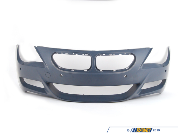 T#76876 - 51117841155 - Genuine BMW Trim Cover, Bumper, Primered, Front M - 51117841155 - E63 - Genuine BMW -
