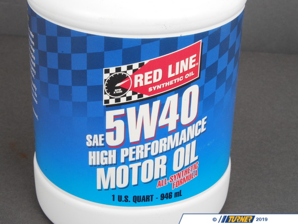T#1142 - 1-MT5W40-Q - Red Line 5W-40 Synthetic Engine Oil - Redline -
