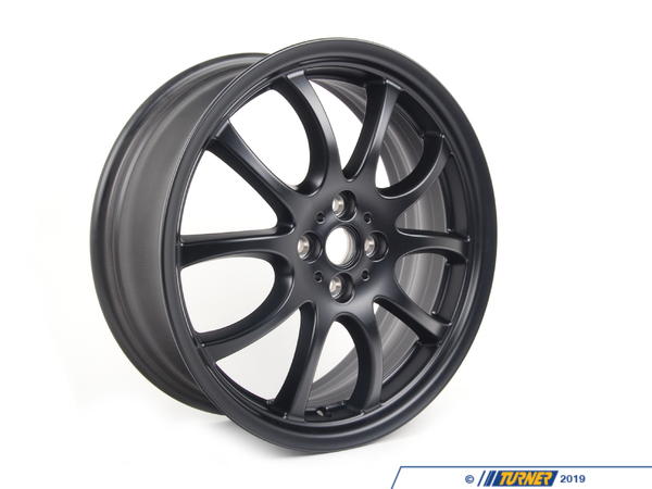 T#66494 - 36116778428 - Genuine MINI Light Alloy Rim, Black 7Jx18 Et:52 - 36116778428 - Genuine Mini -