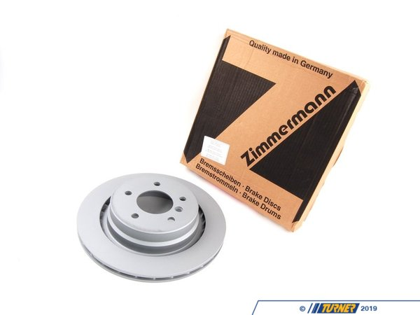 T#341068 - 34212227177 - Brake Rotor-Left Rear - Zimmermann -