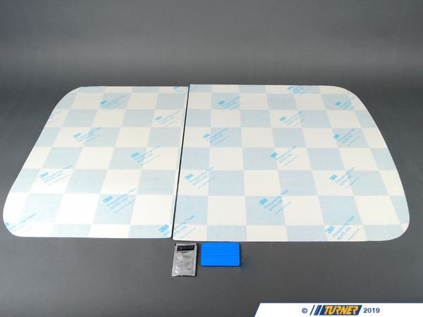 T#80582 - 51140404202 - Genuine MINI Roof Decor Checkered - 51140404202 - Genuine MINI -
