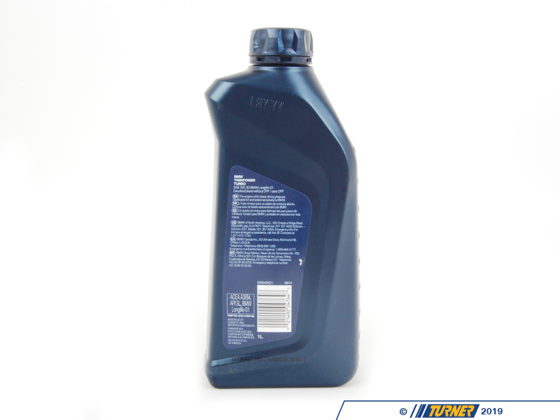 Bmw twinpower turbo 5w30 synthetic engine oil autos post for Motor oil for bmw