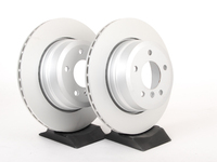 Rear Brake Rotors - E60 xi - 2004-2010 525xi, 528xi, 530xi, 535xi (pair)