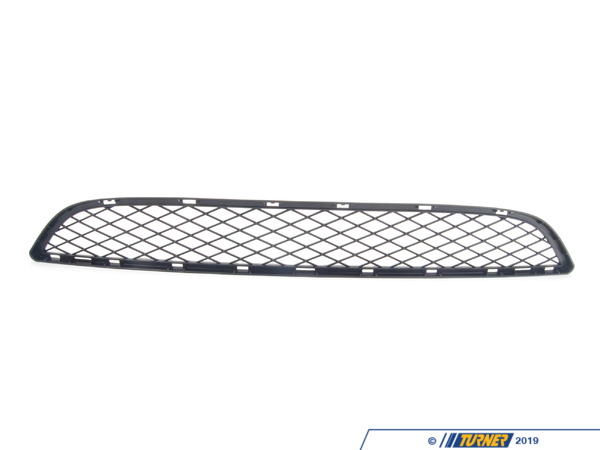T#76363 - 51117176282 - Genuine BMW Grill, Center Lower Schwarz - 51117176282 - E71 - Genuine BMW -