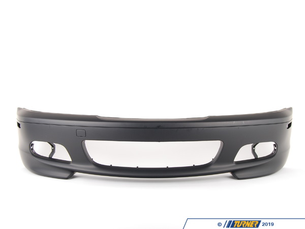 Genuine BMW Genuine BMW M-Tech 2/ZHP Front Bumper Cover - Front - E46 Ci Models 51117893060