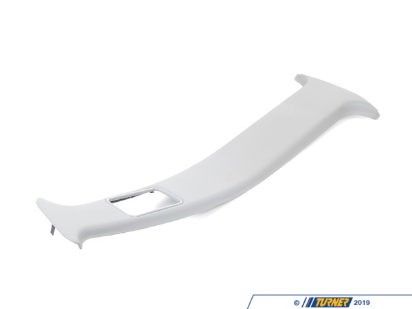T#104476 - 51438137911 - Genuine BMW Covering Column-Center Left Silbergrau - 51438137911 - E34 - Genuine BMW -