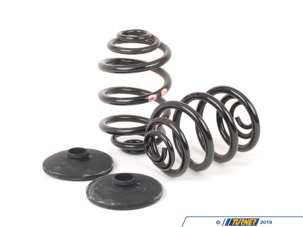 T#61324 - 33539058926 - Genuine BMW Set Coil Springs - 33539058926 - E30 - Genuine BMW -