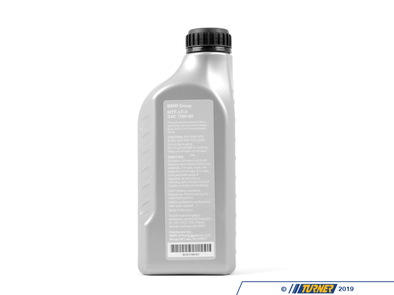 83222339221 Genuine Bmw 75w 90 Transmission Fluid 1