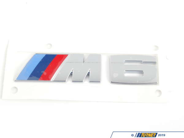 T#178628 - 51148060405 - Genuine BMW Label - M6 - 51148060405 - F06,F12,F13 - Genuine BMW -