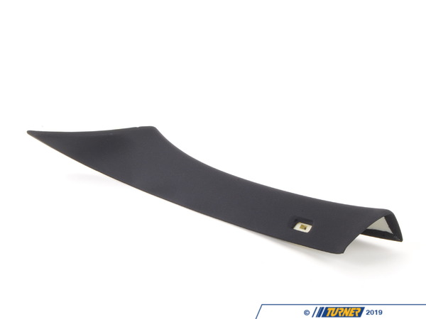 T#104302 - 51438036137 - Genuine BMW Left Column A Cover Schwarz - 51438036137 - E82 - Genuine BMW -