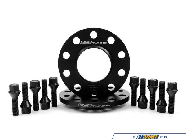 ECS ECS Tuning Wheel Spacer & Bolt Kit - 10mm - 72.6mm CB ECS#253KTWB