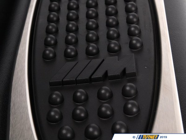 T#16122 - 51432695411 - Genuine BMW Trim Lateral Trim Panel, M Foot R 51432695411 - M Schwarz - Genuine BMW -
