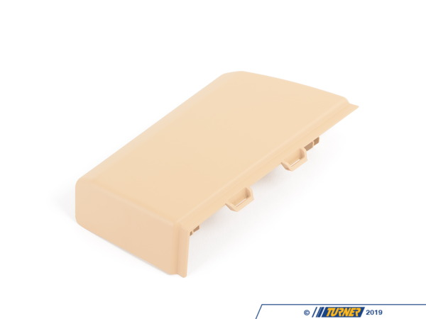 T#82539 - 51163420698 - Genuine BMW Cover F Cup Holder - Cut-out - 51163420698 - Sandbeige - Genuine BMW -