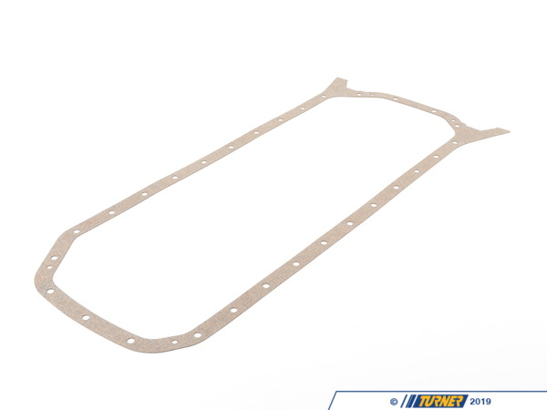T#2796 - 11131315154 - Oil Pan Gasket - E34 535i M5 E32 735i 735il - Elring - BMW