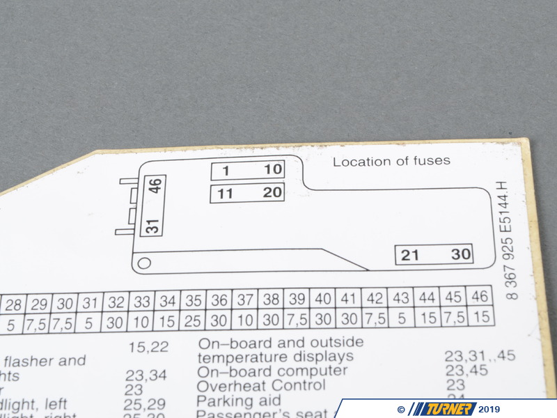 664581_x800 61138367925 genuine bmw stick on label in fuse box english e36 fuse box diagram at readyjetset.co